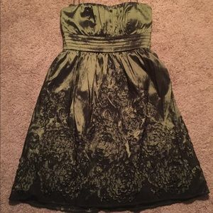 jessica howard evening dresses dark olive green